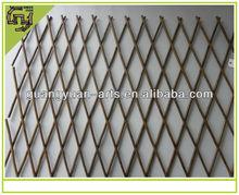 natural rattan handmade craft decorative fence
