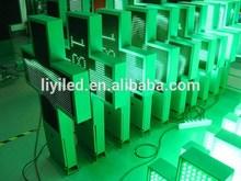 RF/WIFI wireless communication double sides green p16 80cm led pharmacy display
