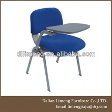 2013 hot selling student training chair with writing pad and book basket