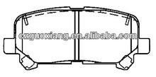 Auto Rear Brake Pads D1585-8397 for Pilot 2012