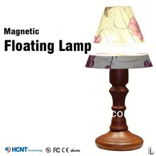 2013 New design !Magnetic floating lamp ,10x magnifier lamp