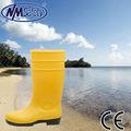amarillo nmsafety botas de pvc