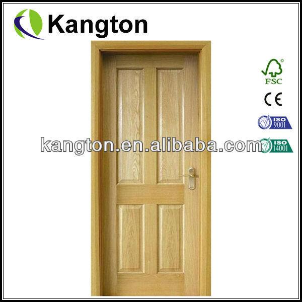 Solide placage de bois porte en bois portes en bois porte for Petite porte en bois