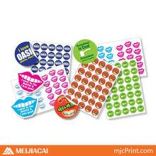 self metal stickers 3m adhesive