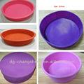 Tamanho diferente utensíliosdecozinha silicone fôrma redonda, assadeira de bolo, molde de silicone para xícaras muffin