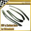 For Mitsubishi Evolution EVO 7 8 9 Carbon Fiber Wind Deflector