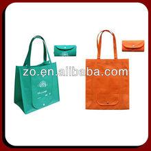 wholesale silk printing various cotton foldable shopping bag