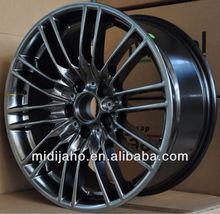 18*8.5J Black aluminum alloy wheel rim