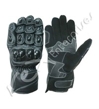 Real Leather Synthetic Leather Motorbike Motorcycle Racing Sports Gloves