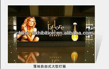 Aluminum led light picture frame/lighting photo frame