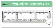 European number plate frame, license plate frame, car plate holder