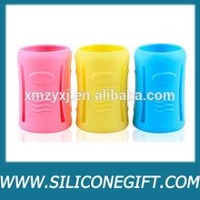 silicone baby bottle case,heat resistent holder