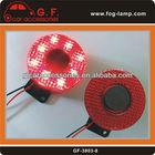 12V/24V Electronic Auto Siren Horn back-up Alarm Buzzer Speaker