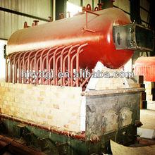dzl series ,horizontal automatic chain grate flue pipe boiler