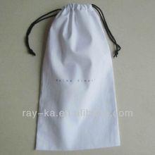 cotton drawstring shoe bags