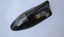 Solar LED Tail Light Shark Fin Antenna Style Car Motorcycle Warning Flash