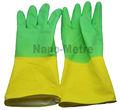 baratos nmsafety rebaño forrado guantes de látex para los pies