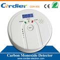 En50291 estándar CO detector de la alarma con pantalla LCD
