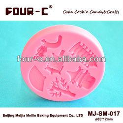 Far East cake pop molds,3D cake decoration molds,fondant art maker