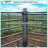 6 bars HDG Australia standard round rail heavy duty corral panels goat panels