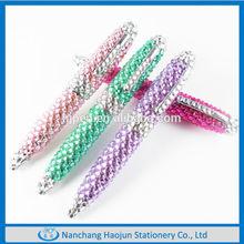 Cute Crystal Twist Ball Pen, Fashion Fancy Writing Pens