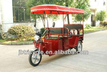 Indian electric rickshaw three wheel JB300K-02L