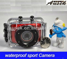 2.0 touch screen 720P waterproof Sport Camera /action camera/mini camera