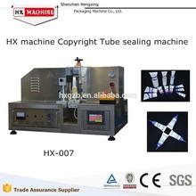 Tubo de plástico sellador de tubos cosméticos tubos de sellador de derechos de autor de HX máquina