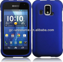 NEWEST ARRIVAL Kyocera Hydro XTRM C6721 CASE MATTE DARK BLUE FACEPLATE HARD PHONE COVER US Cellular