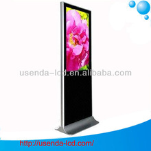 37 inch free standing advertising display monitor with 3g wifi