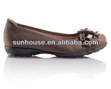 Best 2013!!! snake leather women purple flat heel dress shoes