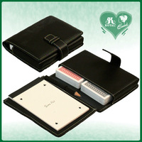 Playing Cards PU Leather Organizer Case