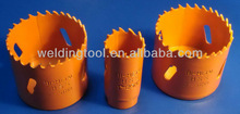 Alloy Steel Body, M3 or M42 8% Cobalt Teeth Bi Metal Hole Saw,Hole Saw