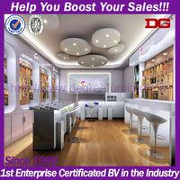 High quality customized interior design china mobile phones shop (DG-H687)