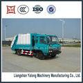 China fabricante de comprimir os caminhões de lixo/recusar coletor para venda