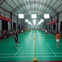 pvc sports floor for badminton