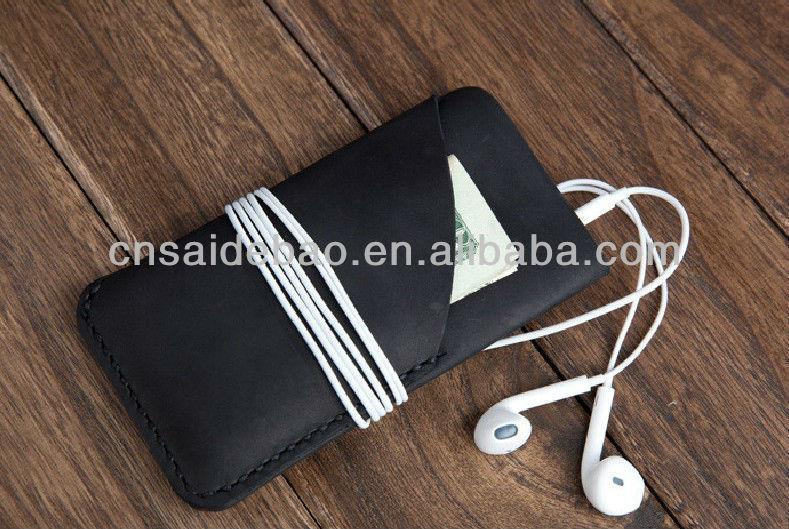 Genuine leather phone case/phone holder