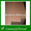 muebles de grado comercial 18mm chapa de madera contrachapada