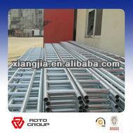 Q235 galvanized steel ladder beam top pot
