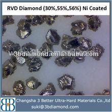 Abrasives/Coated diamond&CBN/Ni,Ti 30,55,56%/Synthetic diamond coated powder