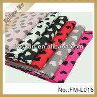 2013 winter heart scarf 100% acrylic fashion pashmina scarf