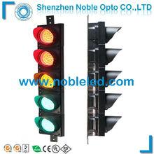 easy instal 100mm small full aspect led traffic light