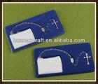 huanan rectangular gift box plastic rosary box 42