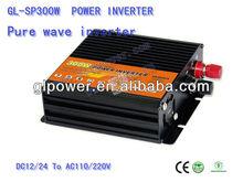 China 300watt inverter manufacturer power inverter inverter 12V / 24V /48VDC 300W Pure sine wave inverter with high reliability