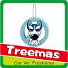Dog shape magic tree air freshener for car Y64