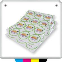 2014 HOT adhesive digital color tags printing