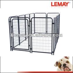 5*10*4 foot galvanized weld wire luxury dog kennel fence panels
