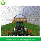 Hot Dipped Galvanized Agricultural Tunnel Greenhouse