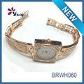 nuevo diseño de lujo para damas de oro relojes antiguos relojes para mujer