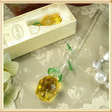 Valentines Day Gifts Yellow Glass Roses